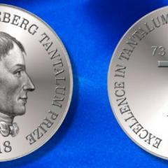 2018 Anders Gustaf Ekeberg Tantalum prize