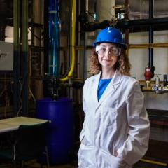 Dr Mahshid Firouzi from the UQ School of Chemical Engineering has been recognised as an outstanding woman in science