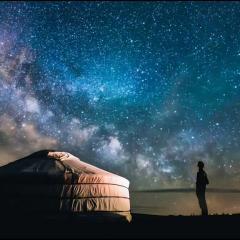image of star filled sky