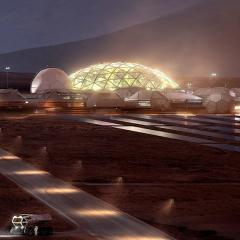 futuristic image off-world mining